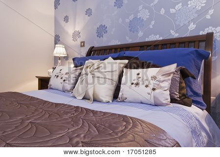 luxury bedroom detail