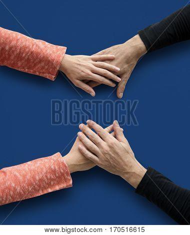 Human Hand Holding Togetherness Relationship Bonding