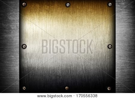 pattern of metal plate background