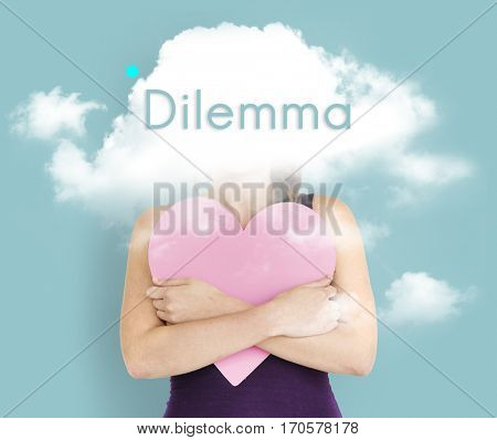 Cloud Hidden Dilemma Depression Bliss