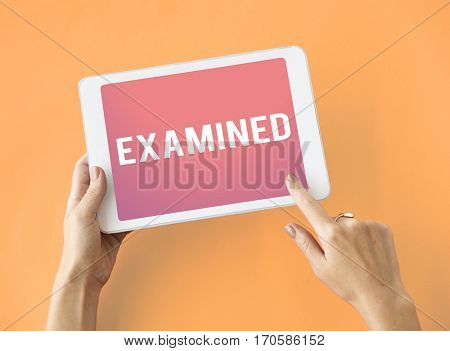 Achieved Examined Endorsed Granted Icon poster