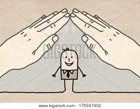 Big hand - roof