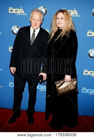 Michael Mann and Summer Mann at the 69th Annual Directors Guild Of America Awards held at the Beverly Hilton Hotel in Beverly Hills, USA on February 4, 2017.