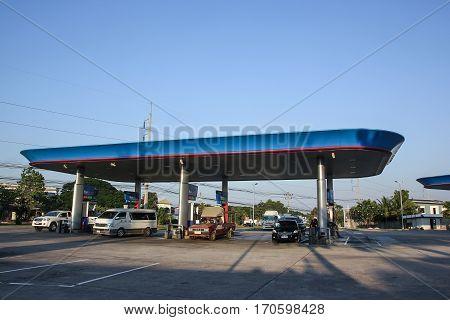 Ptt Oil Station. Location On Road No.11