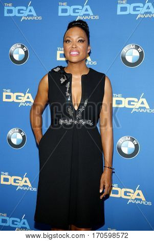 Aisha Tyler at the 69th Annual Directors Guild Of America Awards held at the Beverly Hilton Hotel in Beverly Hills, USA on February 4, 2017.