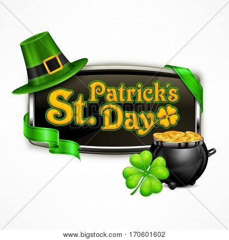 St. Patrick`s Day Badge