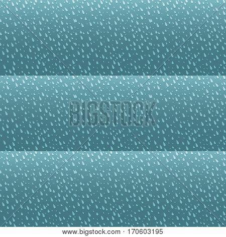 Seamless colorful rain drops pattern background vector. Seamless rain drop pattern stylish hipster background. Rain drops pattern design seamless graphic nature texture liquid backdrop.