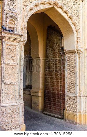 Mehrangarh Fort Entrance At Jodhpur