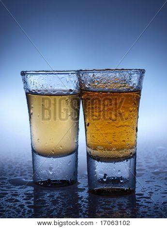 A shot glasses