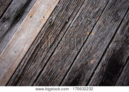 Weather timber planks diagonal background texture diagonal lines