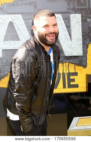 LOS ANGELES - FEB 4:  Guillermo DIaz at the