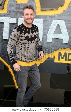 LOS ANGELES - FEB 4:  Chris Hardwick at the