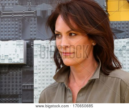LOS ANGELES - FEB 4:  Annabeth Gish at the