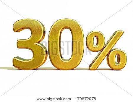 Gold Sale 30%, Gold Percent Off Discount Sign, Sale Banner Template, Special Offer 30% Off Discount Tag, Thirty Percentages Up Sticker, Gold Sale Symbol, Gold Sticker, Banner, Advertising, Luxury Sale