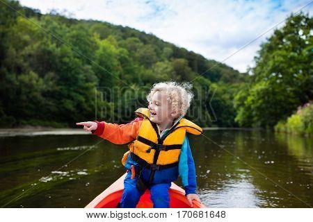 Little Boy In Kayak