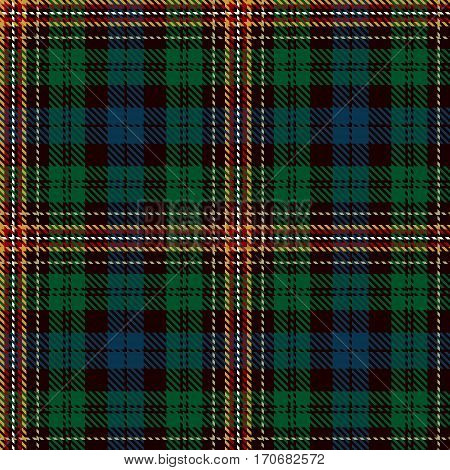 Tartan Seamless Pattern Background. Red Black Yellow Green Blue and White Plaid Tartan Flannel Shirt Patterns. Trendy Tiles Vector Illustration for Wallpapers.