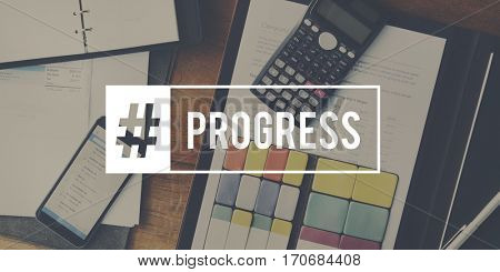 Progress Word Business Corporate Analyze