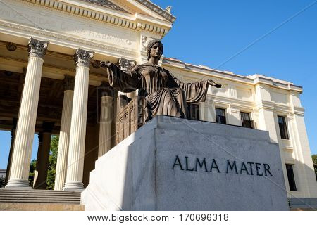 The University of Havana, the oldest higher education center in Cuba