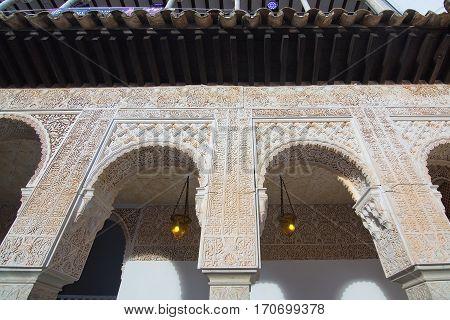 Pueblo Espanol Moorish Architecture