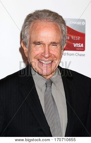 LOS ANGELES - FEB 6:  Warren Beatty at the AARP Movies for Grownups Awards at Beverly Wilshire Hotel on February 6, 2017 in Beverly Hills, CA