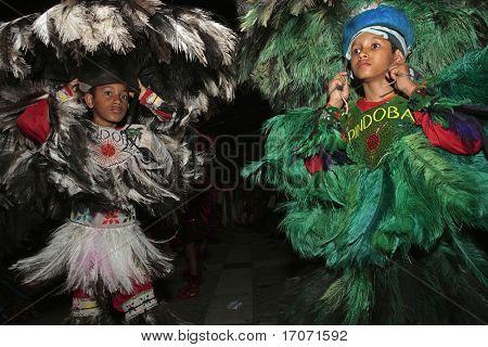 bumba meu boi celebration every solstice of june in center historic city of soa luis do maranhao brazil