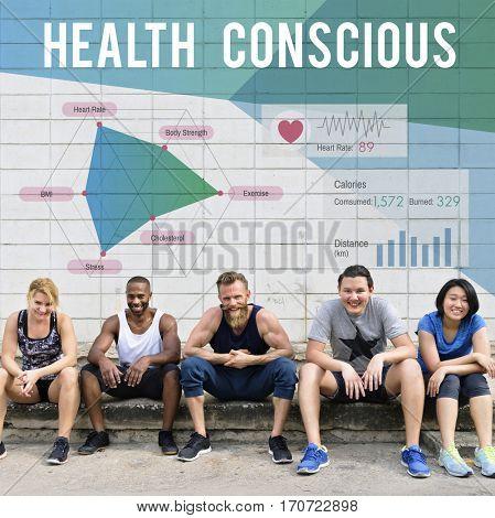 Health Conscious Analysis Friends Goal