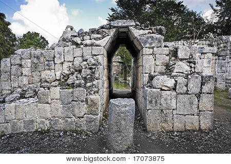 Chichen Itza in the yucatan was a Maya city and one of the greatest religious center and remains today one of the most visited archaeological site