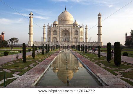 Taj Mahal in Agra rajasthan state in india