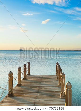 Jetty into the Blue