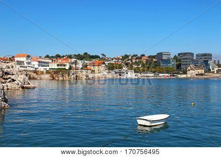 Cascais - popular touristic destination near Lisbon, Portugal