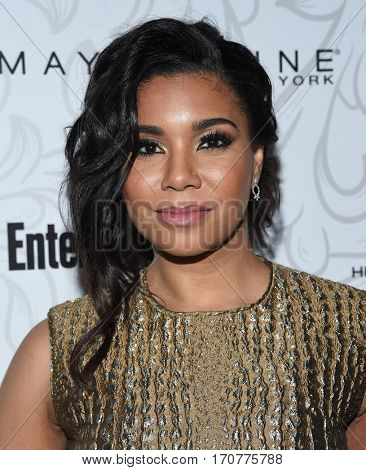 LOS ANGELES - JAN 28:  Jessica Pimentel arrives to the Entertainment Weekly Pre Sag Awards Celebration on January 28, 2017 in Hollywood, CA