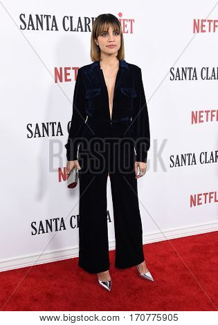LOS ANGELES - FEB 01:  Natalie Morales arrives to the