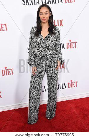 LOS ANGELES - FEB 01:  Cara Santana arrives to the