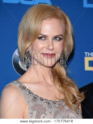 LOS ANGELES - FEB 04:  Nicole Kidman in the press room at the 69th Annual DGA Awards on February 4, 2017 in Beverly Hills, CA