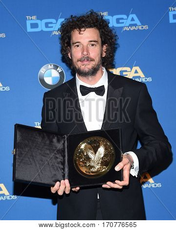 LOS ANGELES - FEB 04:  Garth Davis in the press room at the 69th Annual DGA Awards on February 4, 2017 in Beverly Hills, CA