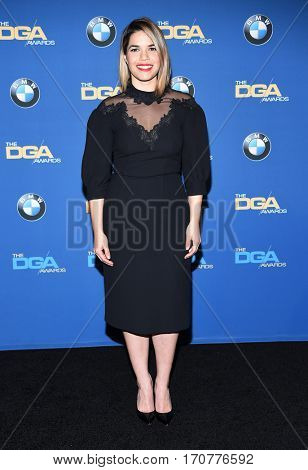 LOS ANGELES - FEB 04:  America Ferrera in the press room at the 69th Annual DGA Awards on February 4, 2017 in Beverly Hills, CA
