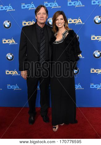 LOS ANGELES - FEB 04:  Kevin Sorbo and Sam Sorbo arrives for the 69th Annual DGA Awards on February 4, 2017 in Beverly Hills, CA
