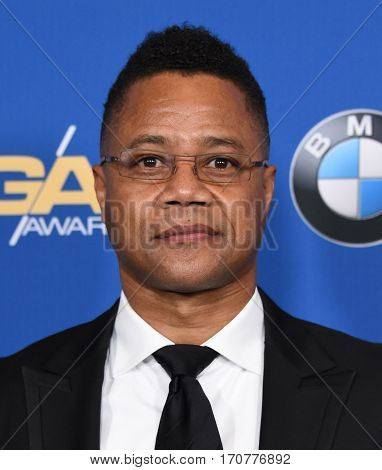 LOS ANGELES - FEB 04:  Cuba Gooding Jr. arrives for the 69th Annual DGA Awards on February 4, 2017 in Beverly Hills, CA