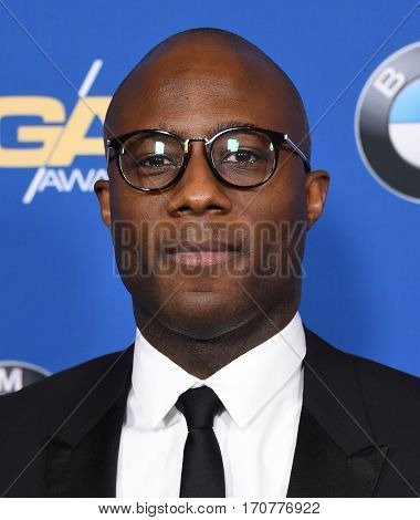 LOS ANGELES - FEB 04:  Barry Jenkins arrives for the 69th Annual DGA Awards on February 4, 2017 in Beverly Hills, CA