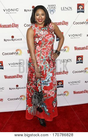 TV personality Alicia Quarles attends the 14th Annual Woman's Day Red Dress Awards at Jazz at Lincoln Center on February 7, 2017 in New York City.