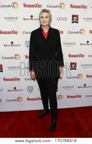 Actress Jane Lynch attends the 14th Annual Woman's Day Red Dress Awards at Jazz at Lincoln Center on February 7, 2017 in New York City.