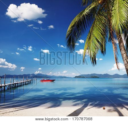 Tropical island, somewhere in Thailand