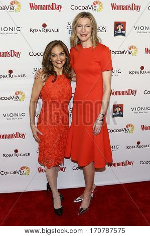 Nutririon expert Joy Bauer (L) and Woman's Day Editor-in-Chief Susan Spencer attend the 14th Annual Woman's Day Red Dress Awards at Jazz at Lincoln Center on February 7, 2017 in New York City.