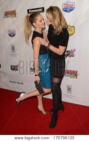 LOS ANGELES - FEB 6:  Christina Moore, Missi Pyle at the