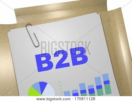 B2B - Business Concept