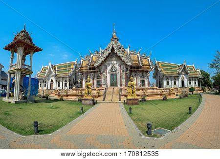 Wat Srisa Thong Temple Nakhon Chaisi Nakhon Pathom Province Thailand.