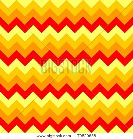 Chevron pattern seamless vector arrows geometric design colorful yellow orange red