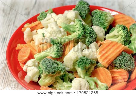 Quick-frozen vegetables retain all the vitamins, minerals - all nutrients