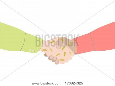 Handshake With Dirty Hands