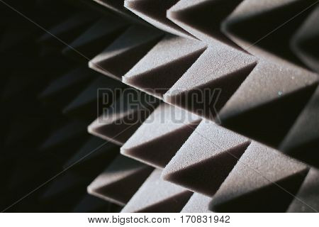 soundproof panel of polyurethane foam, soundproof material